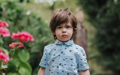 How to photograph 'camera shy' children